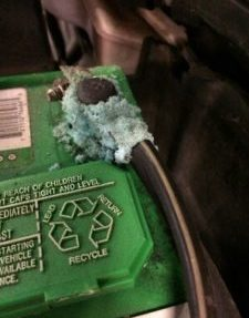 Battery_corroded-terminal Lake Arbor Automotive Westminster