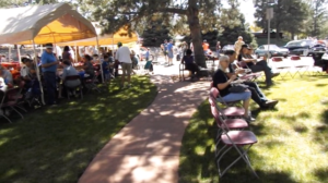 Customer Appreciation Day picnic at Lake Arbor Automotive Westminster