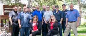 Lake arbor automotive Westminster Colorado & truck team photo