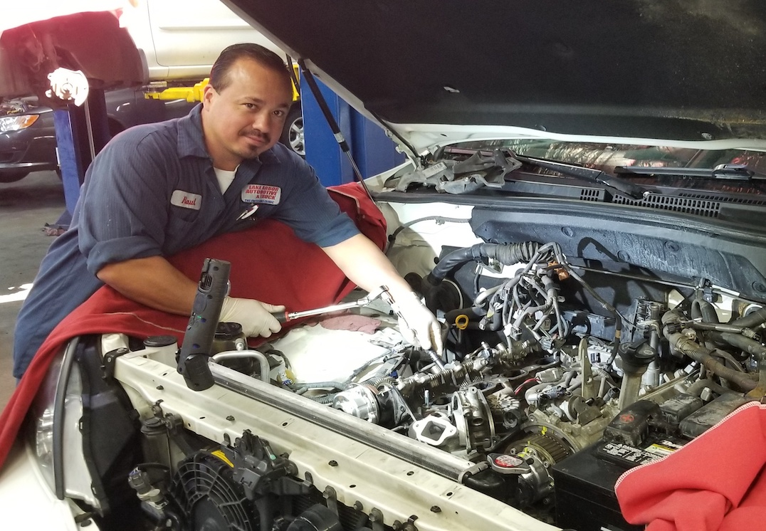 mechanic working on Auto Repair Lake Arbor Automotive Westminster