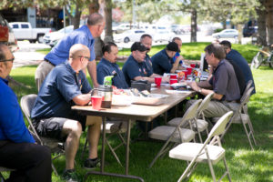 Lake Arbor Automotive & Truck team at picnic Westminster Colorado