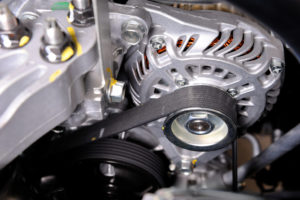 close up photo of timing belt Lake Arbor Automotive & Truck Westminster Colorado